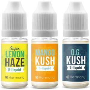 Harmony Terpenes (0mg CBD) e-Liquid in Real Cannabis Flavours