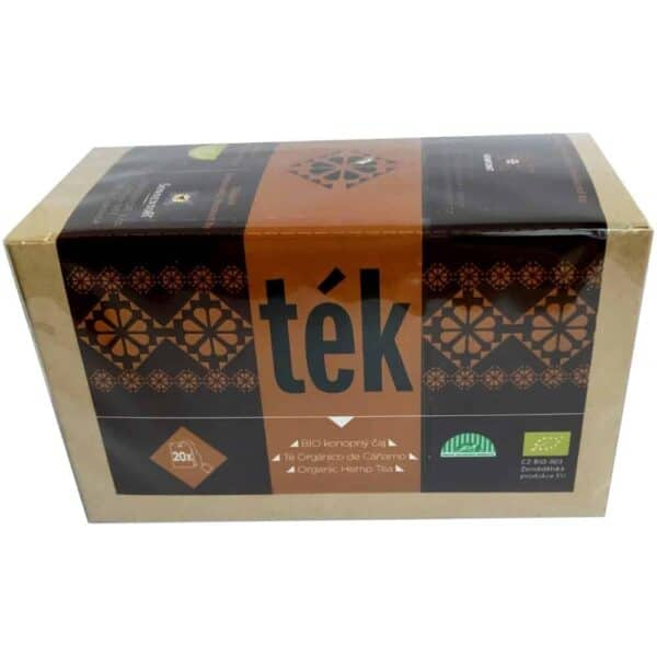 Hemp Tea Bags - Tek Bio Hemp Leaves & Flowers – 20 Bags