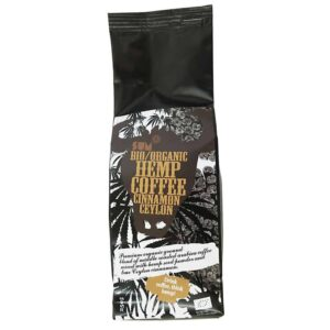 Hemp Coffee – Organic, Vegan and Gluten Free - 250 g - Ceylon Cinnamon