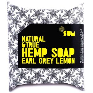 Hemp Soap – SUM Natural & True with 30% Hemp Seed Oil - Earl Grey Lemon