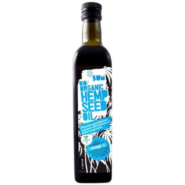 Organic Hemp Oil - 500 ml