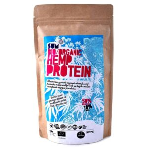 Hemp Protein Powder – Raw, Organic, Vegan - 500g