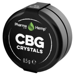 Pharmahemp CBG Crystals - 99% - 500mg
