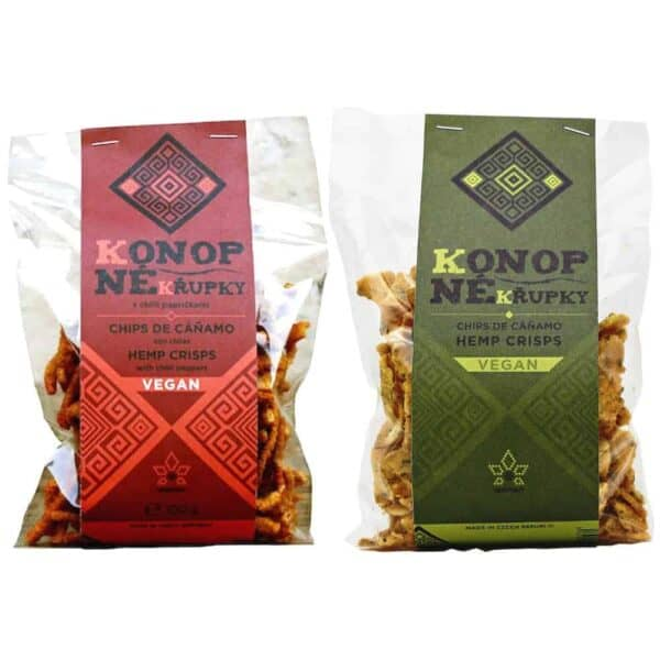 2 Pack Hemp Crisps - Chilli Hemp or Plain Hemp