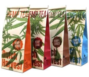 Dutch Harvest Hemp Tea - Various Blends