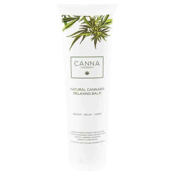 Canna Therapy Natural Cannabis Massage Balm - Relieve   Relax   Tonify