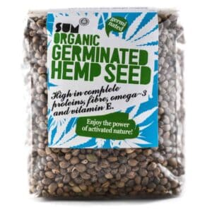 Organic Germinated Hemp Seeds - 200g