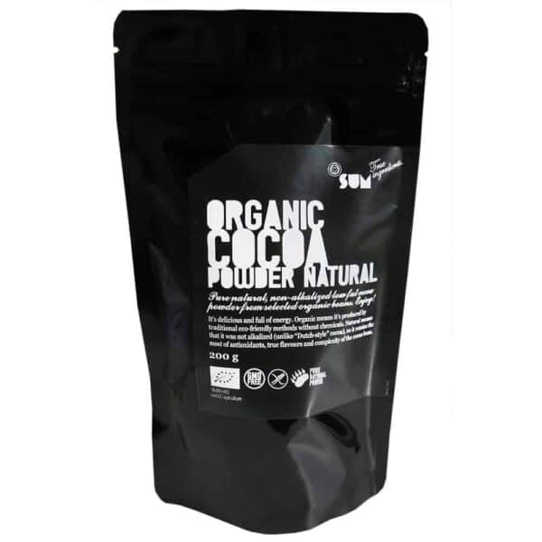 Oragnic Natural Cocoa Powder - 200g