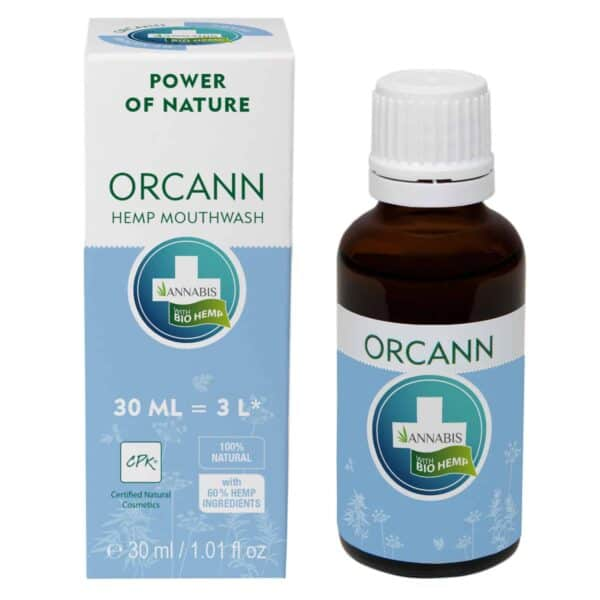 Orcann Hemp Mouthwash
