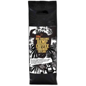 Hemp Coffee – Organic, Vegan and Gluten Free - 500 g - Ceylon Cinnamon