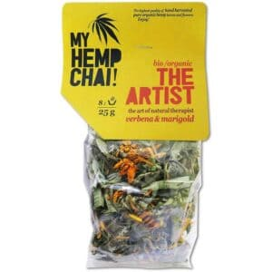 Organic Hemp Tea - My Hemp Chai - The Artist - 25g