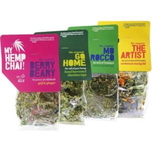 Organic Hemp Tea - My Hemp Chai - 4 Pack Multi Deal