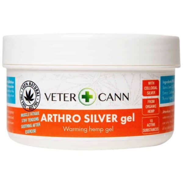 Vetercann Arthro Silver Hemp Gel - 100ml