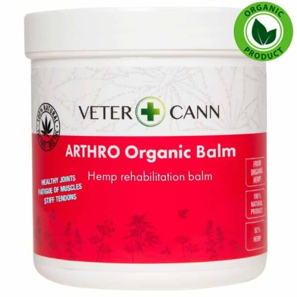 Vetercann Arthro Organic Hemp Balm - 250ml