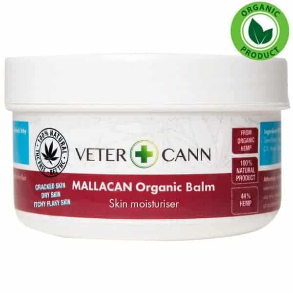Vetercann Mallacan Organic Hemp Balm - 100ml