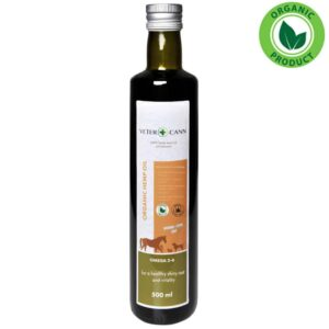 Vetercann Organic Hemp Oil - 500ml