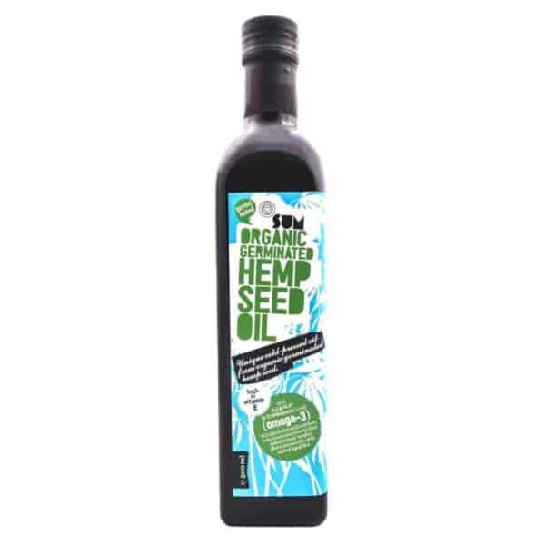 Organic Sprouted Hemp Seed Oil - 500ml