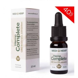 Medihemp CBD Oil Tincture - 250mg - 10ml