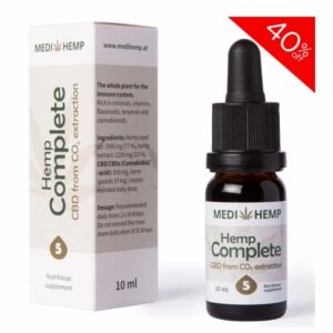 5% CBD Oil Drops Tincture Old Packaging- 500mg of CO2 Extracted CBD - 10ml