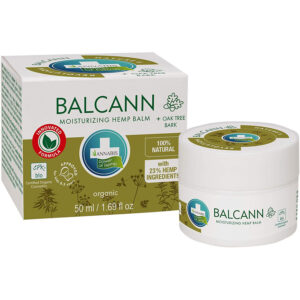 Balcann Hemp Balm with Oak Tree Bark