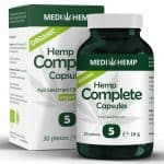Full spectrum vegan CBD capsules and tablets from medihemp.