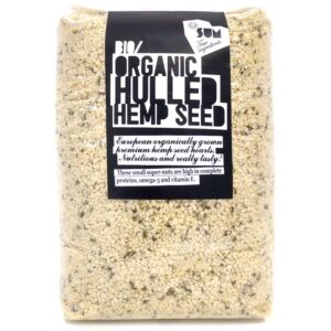 SUM Hulled Hemp Seeds -1kg