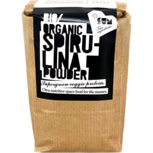 Organic spirulina powder in Eco friendly Packaging